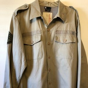DC Military Style Shirt XL